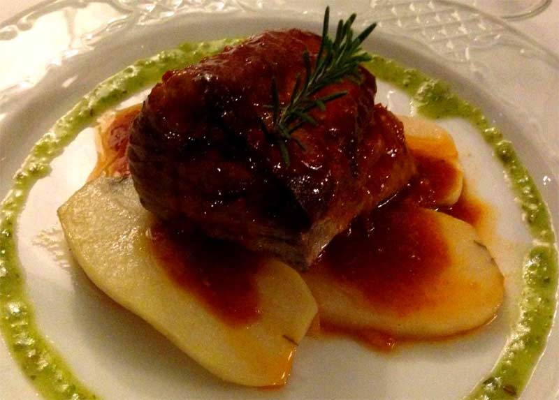 Atún del restaurante Villa Toledo de Costa Teguise