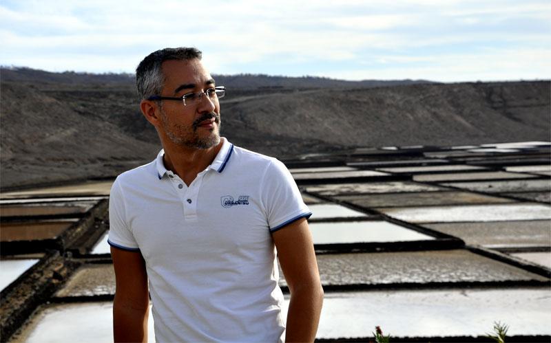 Álex Brito, autor del blog Rubicón de Historia de Lanzarote