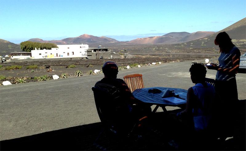 Terraza de El Chupadero de La Geria, Lanzarote