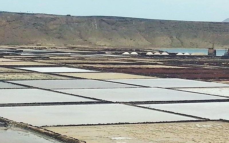 Vistas desde el restaurante Mirador Las Salinas, Salinas de Janubio, Lanzarote