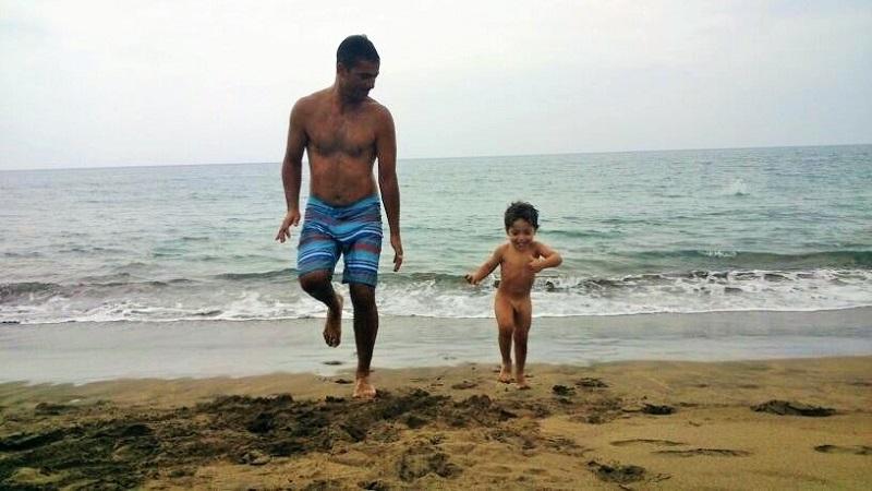 La playa y el universo lúdico de los niños