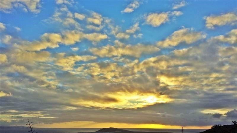 El cielo desde Los Ajaches