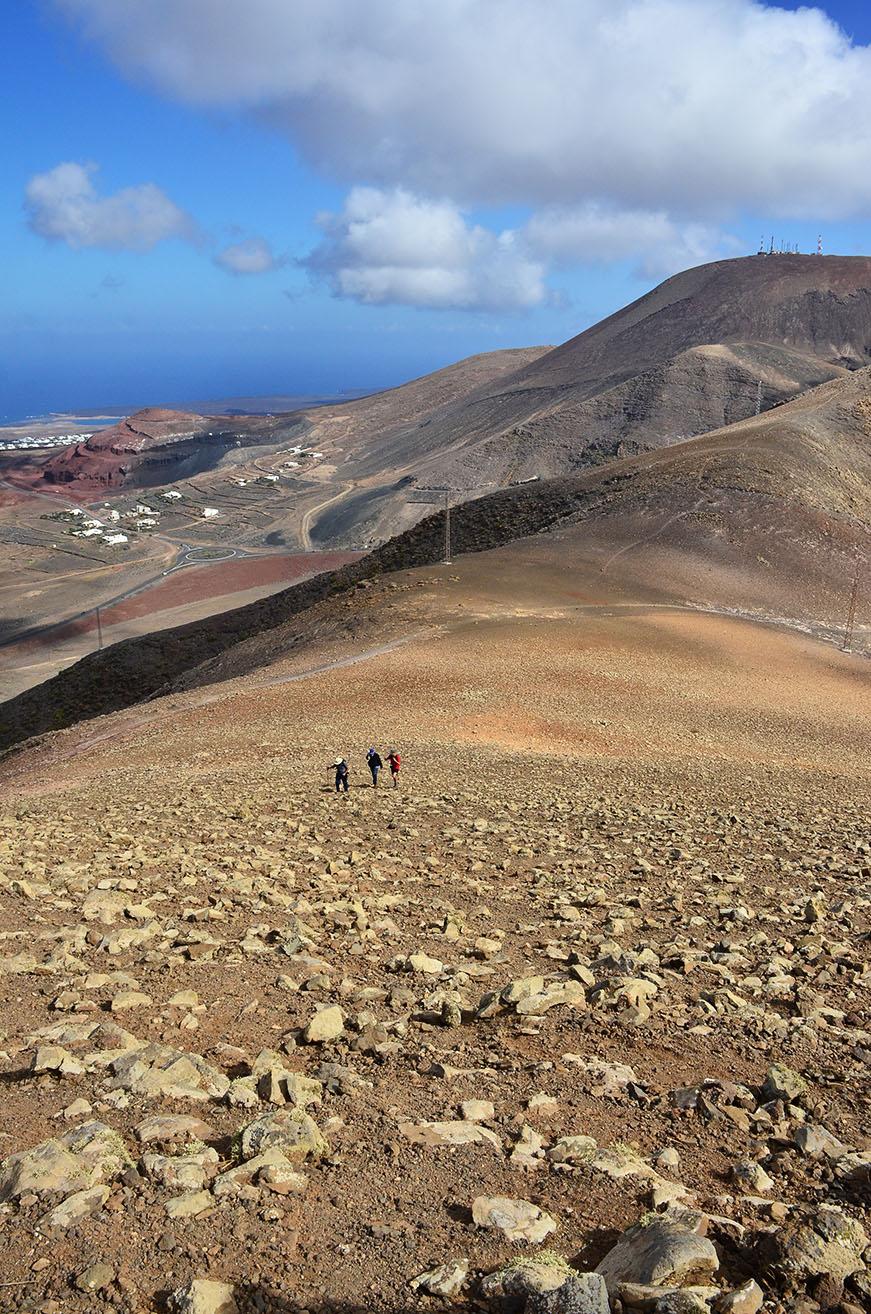 Ascenso a Pico Aceituna y Pico Redondo, Monumento Natural Los Ajaches, Lanzarote