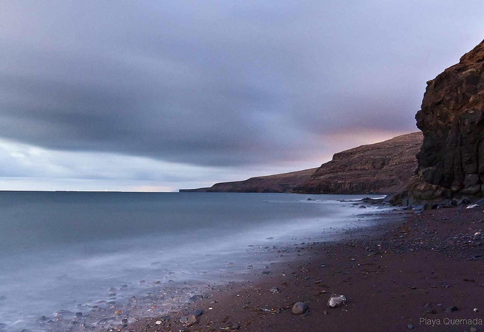 Playa de La Arena, Playa Quemada, fotografía de Ramón Pérez Niz
