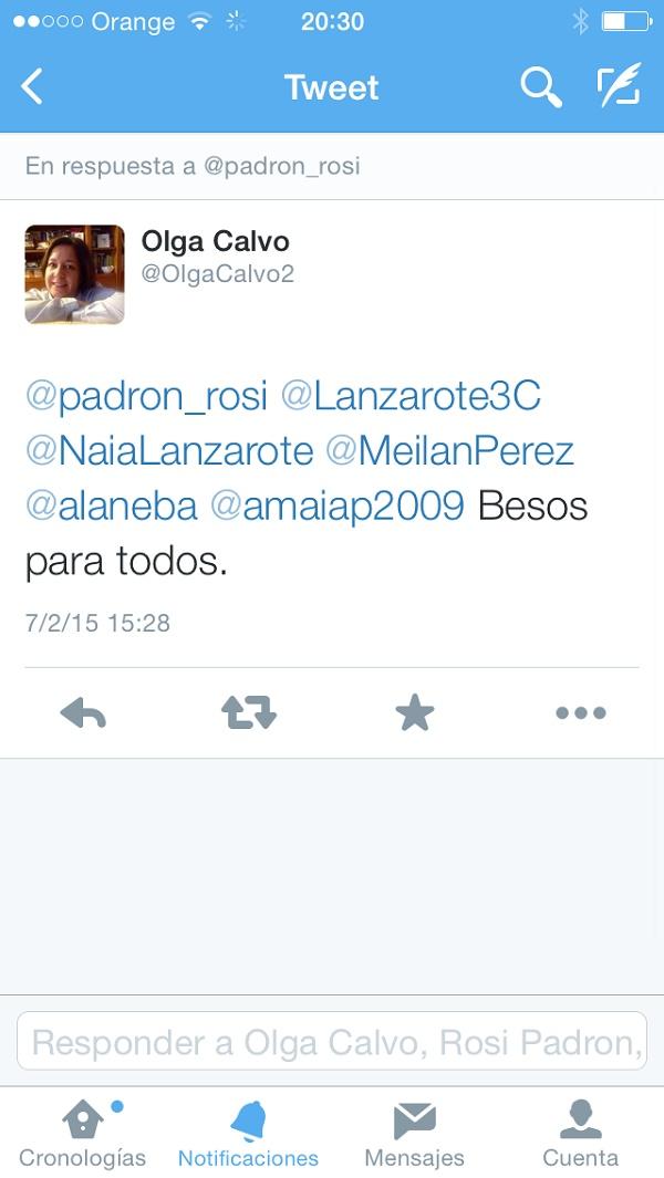 Tweet Las Rozas