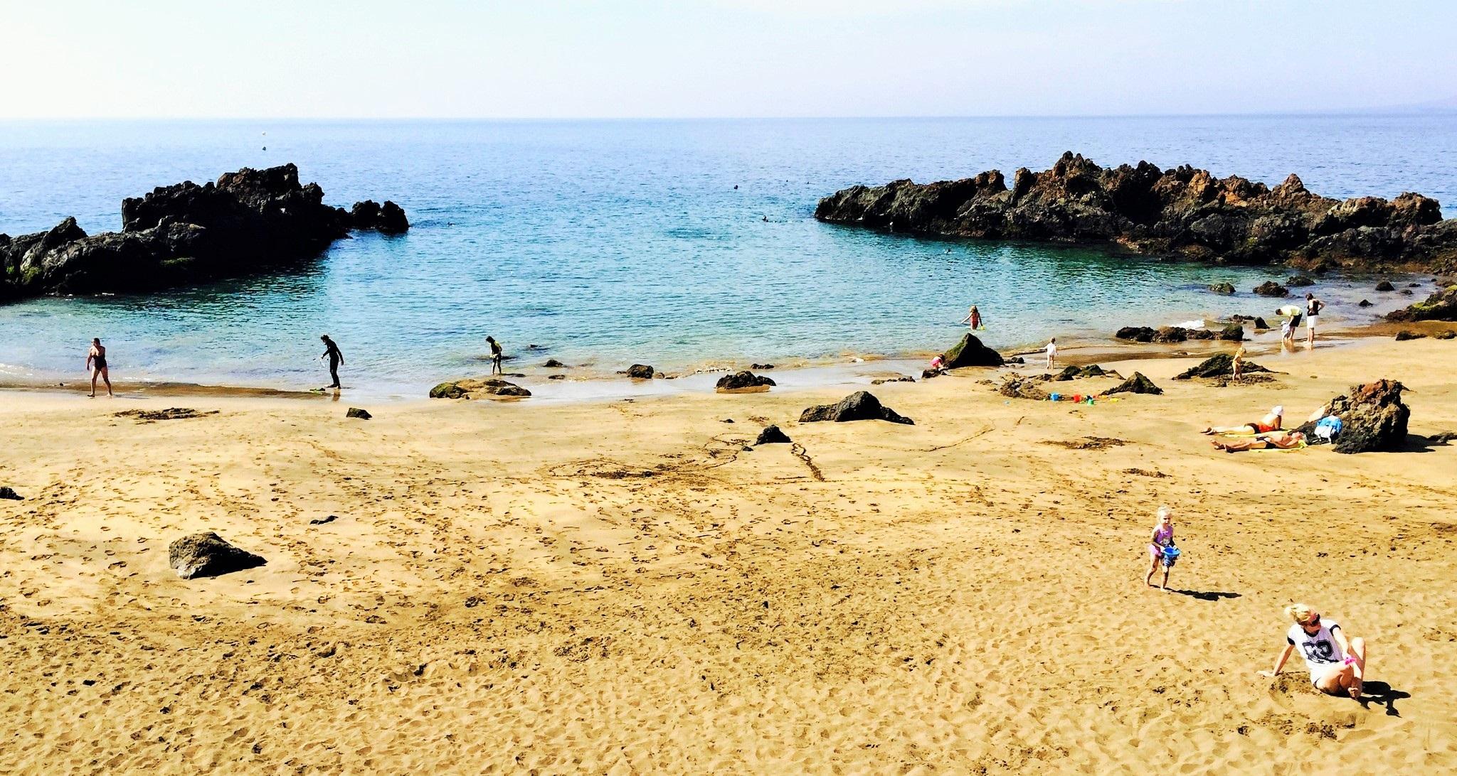 Playa de La Barrilla, Puerto del Carmen, Lanzarote