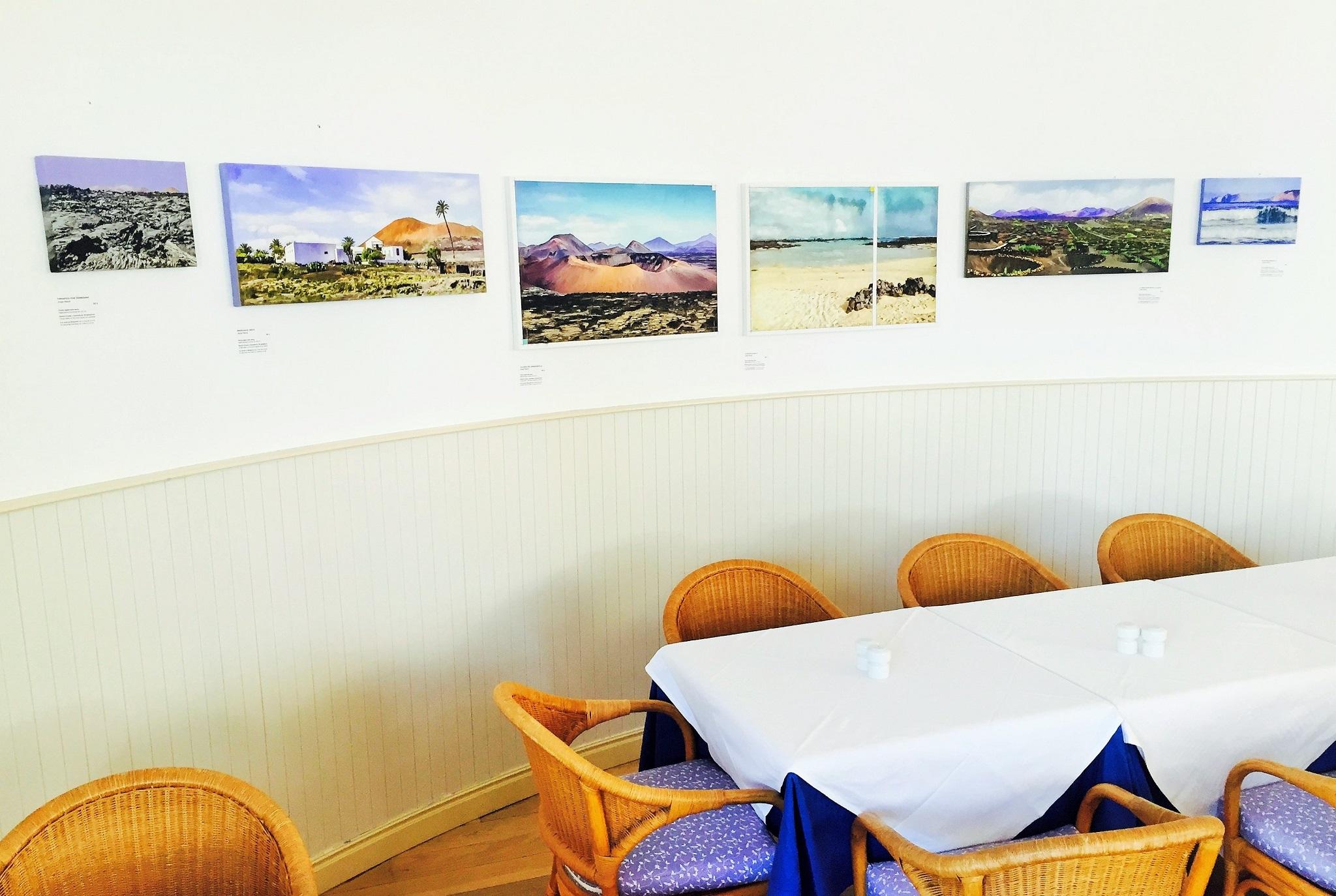Jorge Marsá: Lanzarote 3 En Pintura en Restaurante Luis León Barcarola
