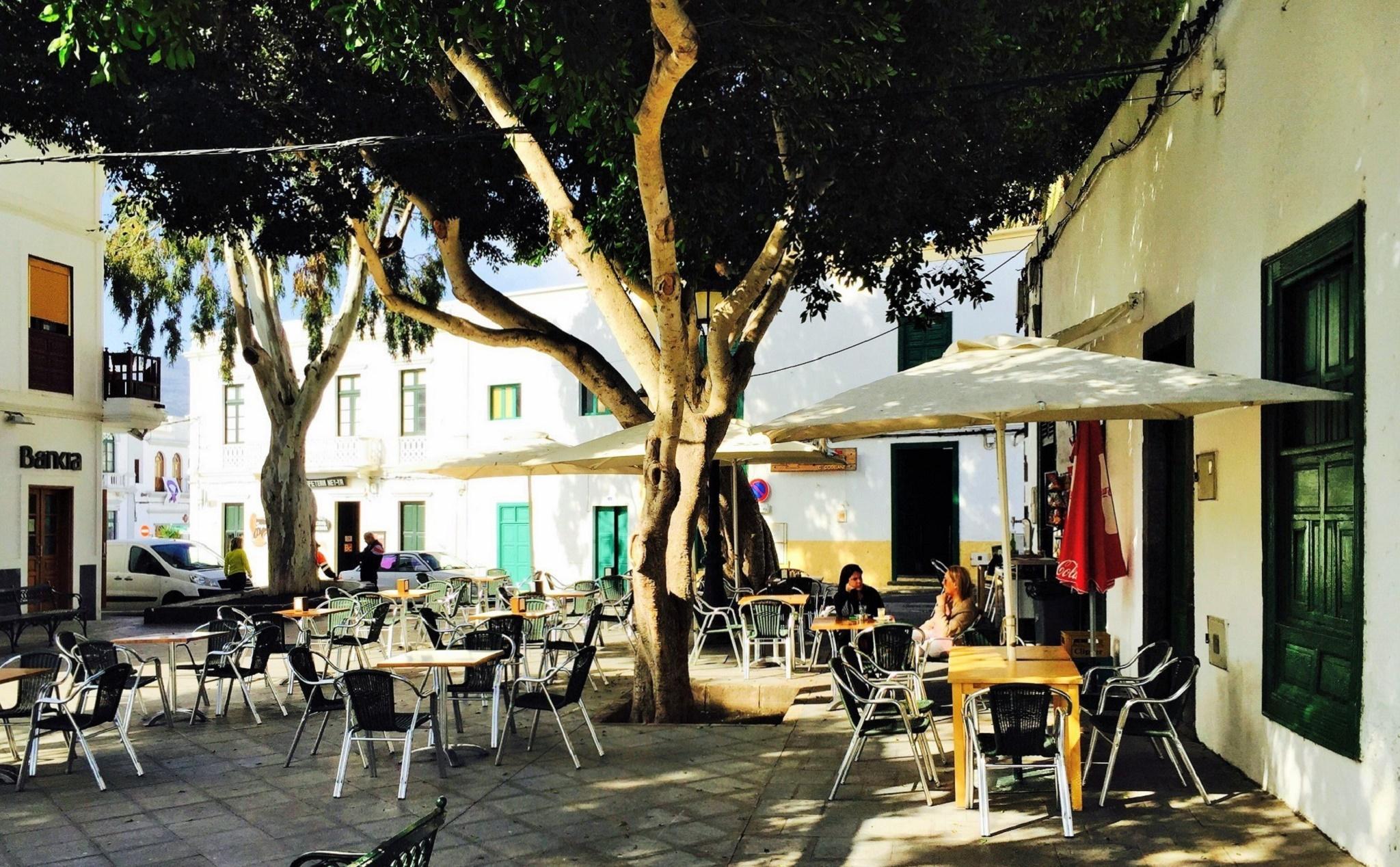 Plaza de Haría, Lanzarote