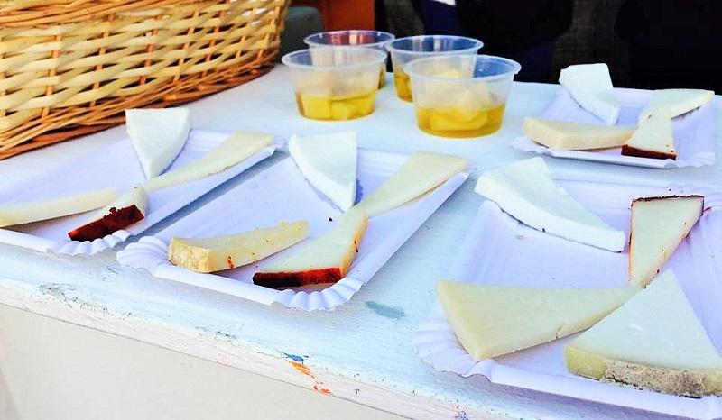 Tabla de quesos de Lanzarote