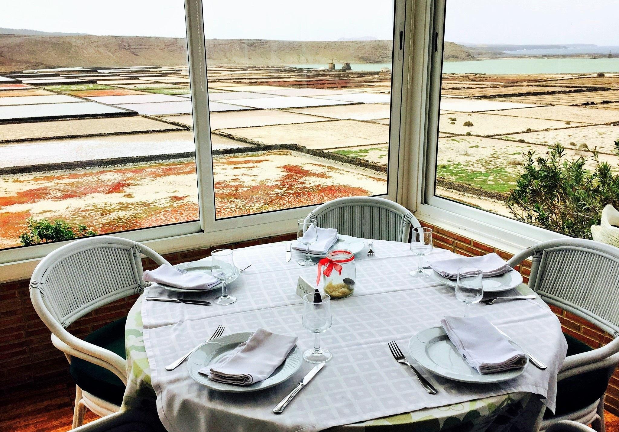 Restaurante Mirador Las Salinas de Janubio, Lanzarote