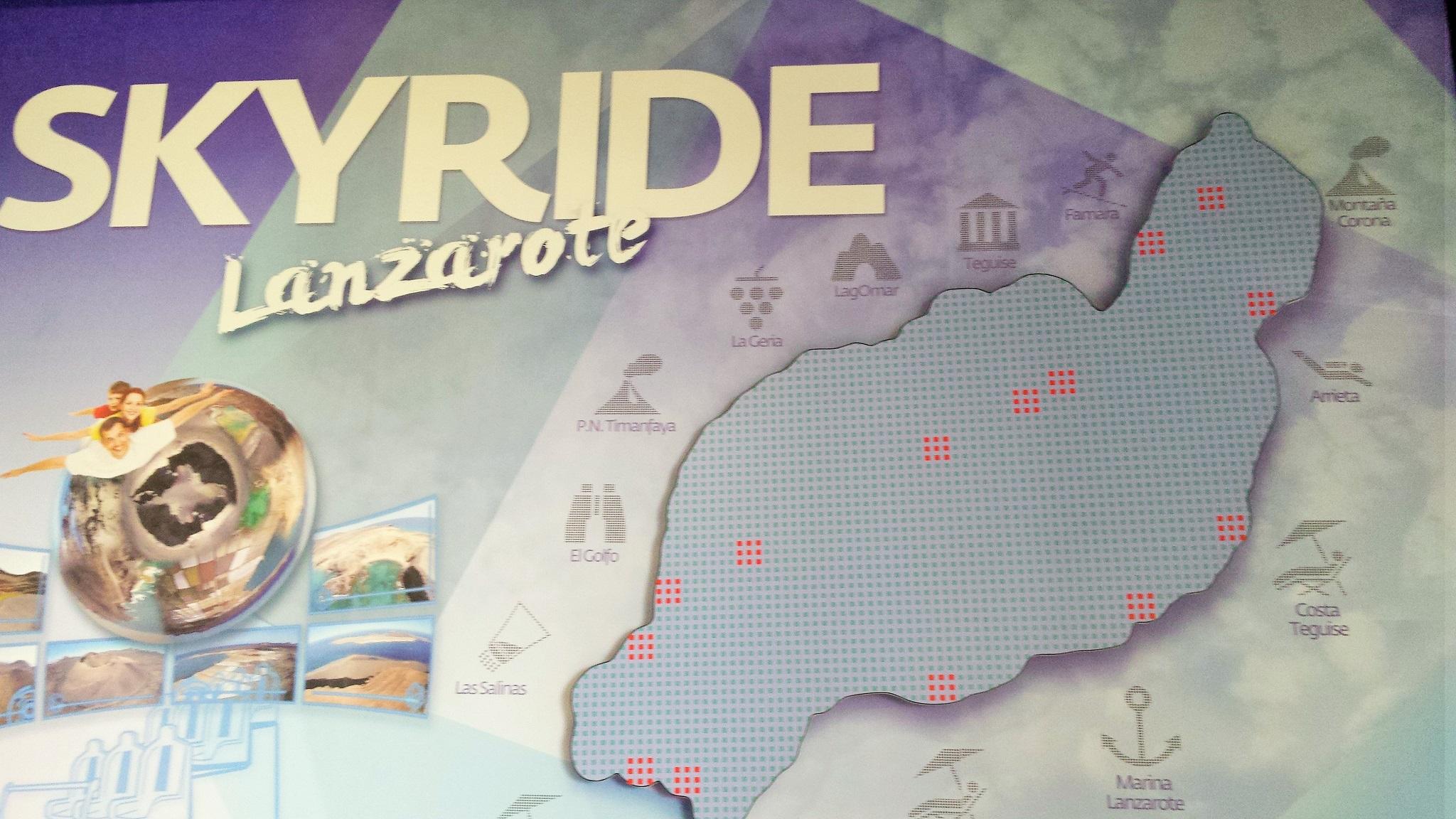 Skyride Lanzarote, viaje en simulador de vuelo por Lanzarote
