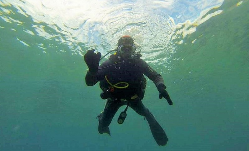 Inmersión de submarinismo con Buceo Fariones