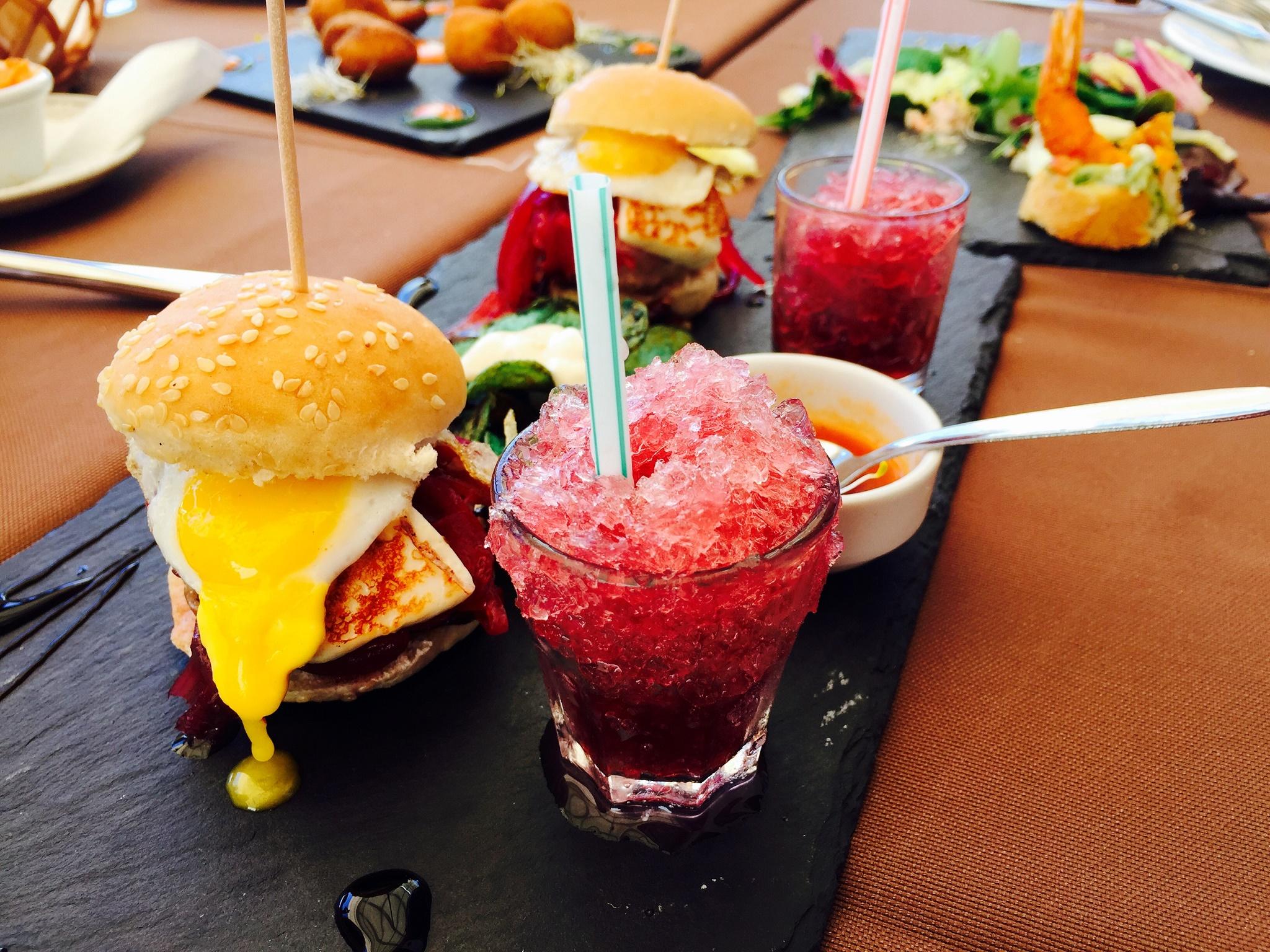 Mini hamburguesa de cochino negro, Taberna Nino, Lanzarote