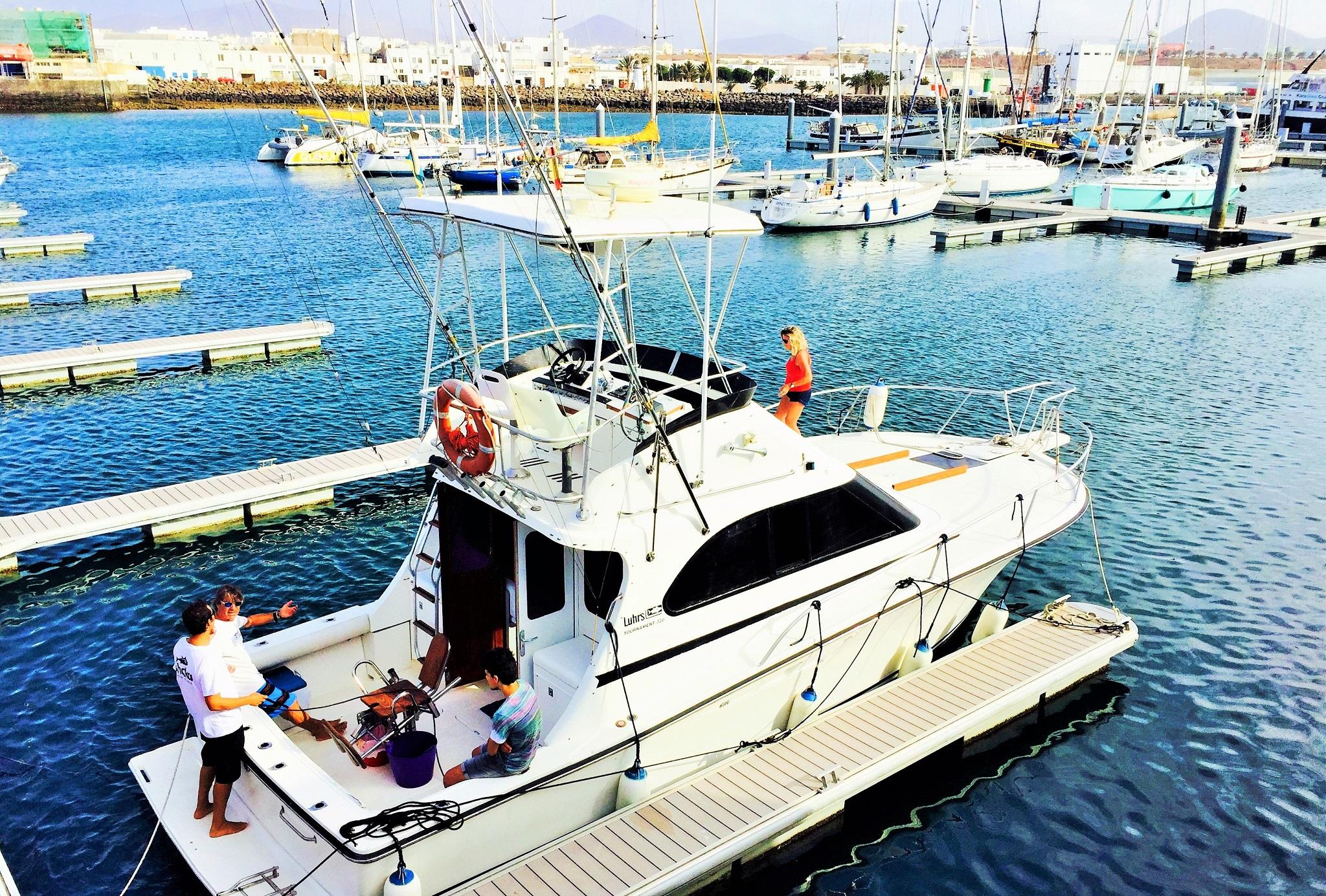 Shaka Fishing & Charter, Marina Lanzarote, Arrecife