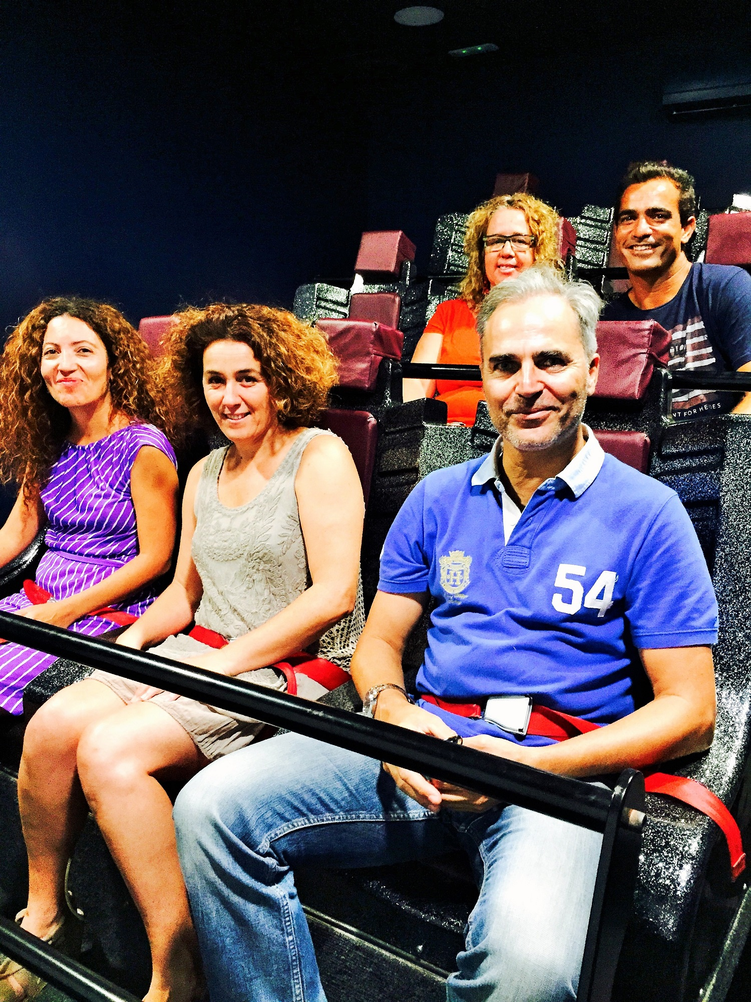 Blogueros en cine 6D