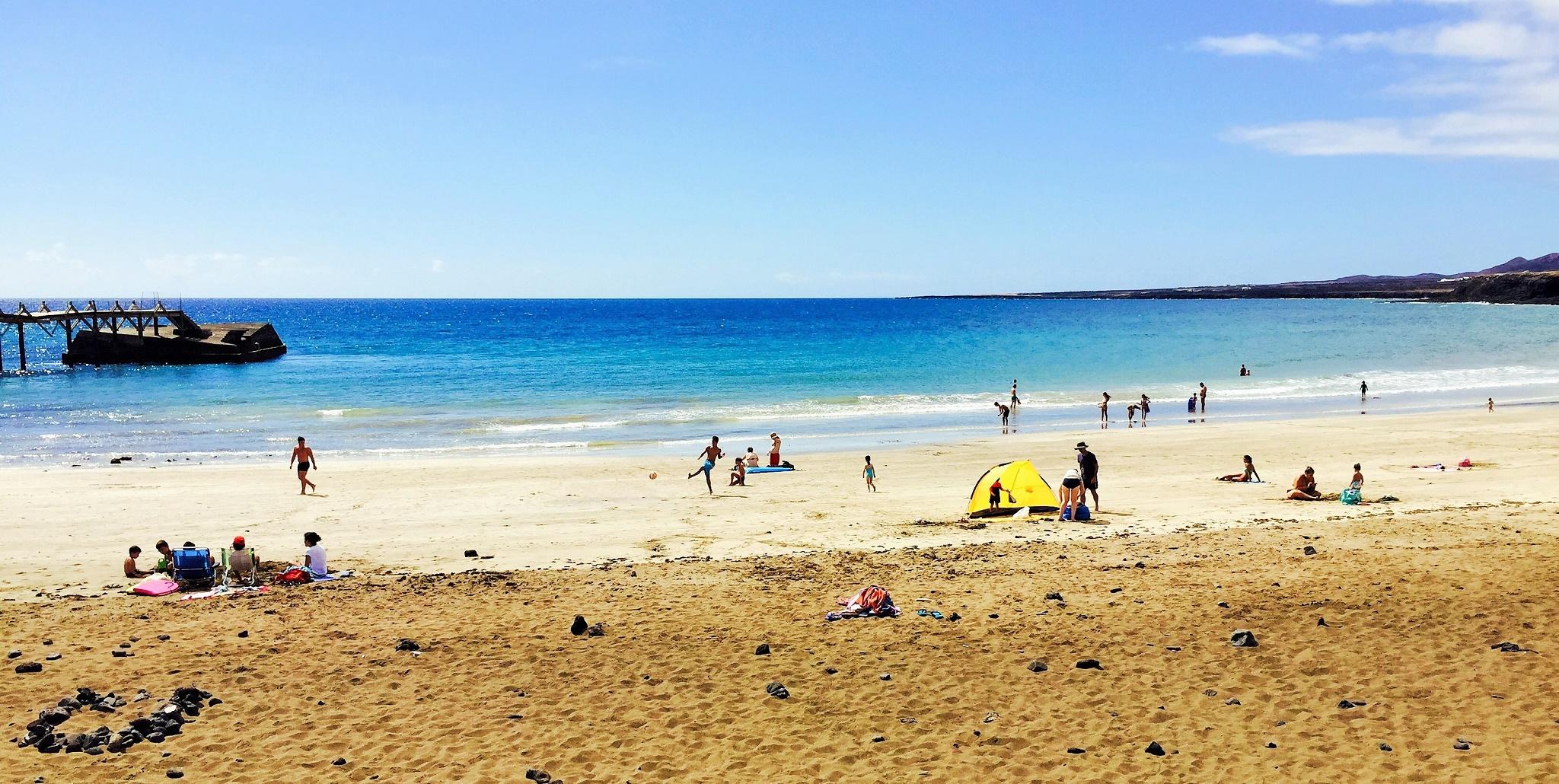 Playa La Garita, Arrieta, Lanzarote