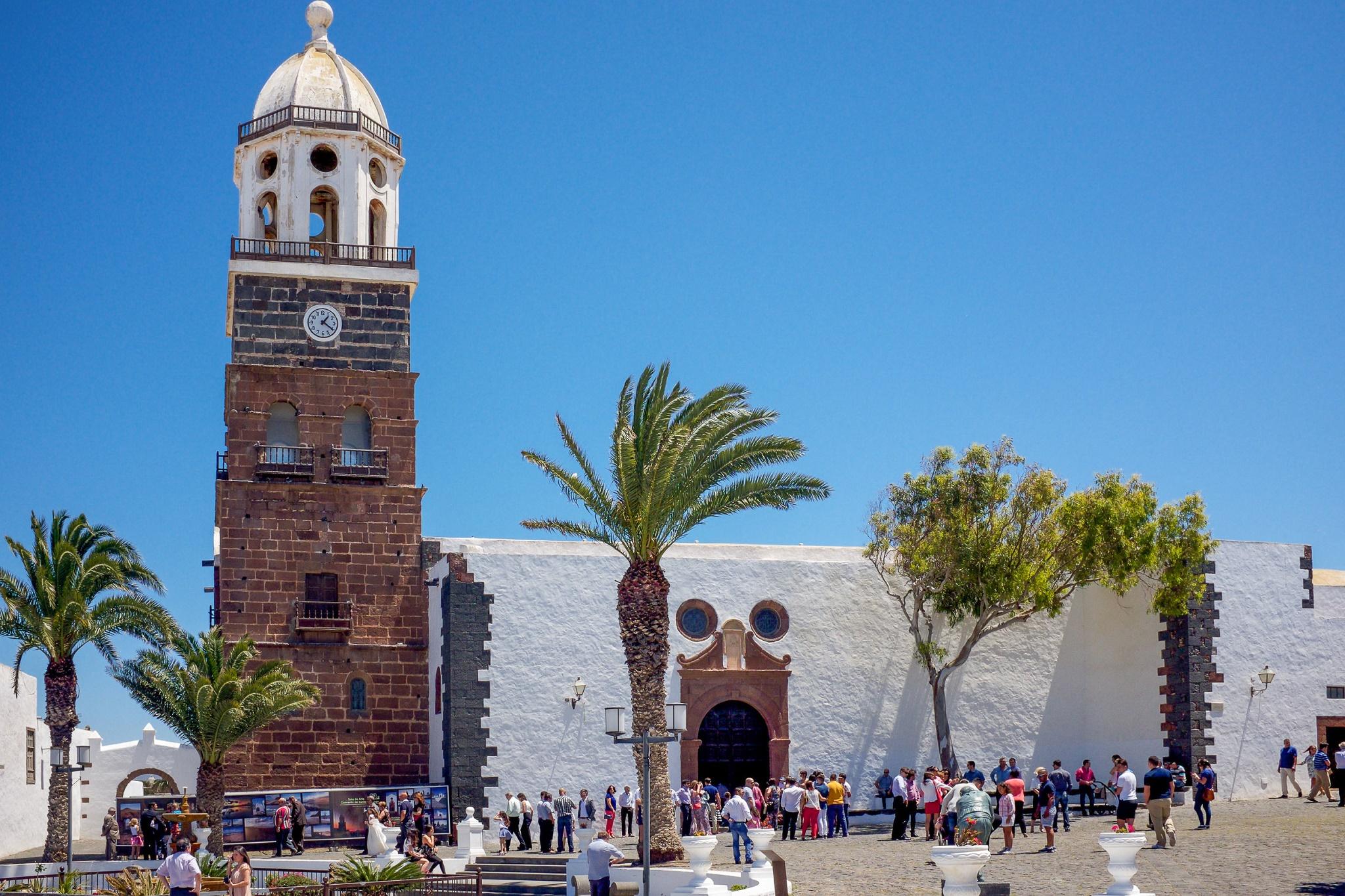 La Iglesia de Guadalupe, Teguise, por Ramón Pérez Niz