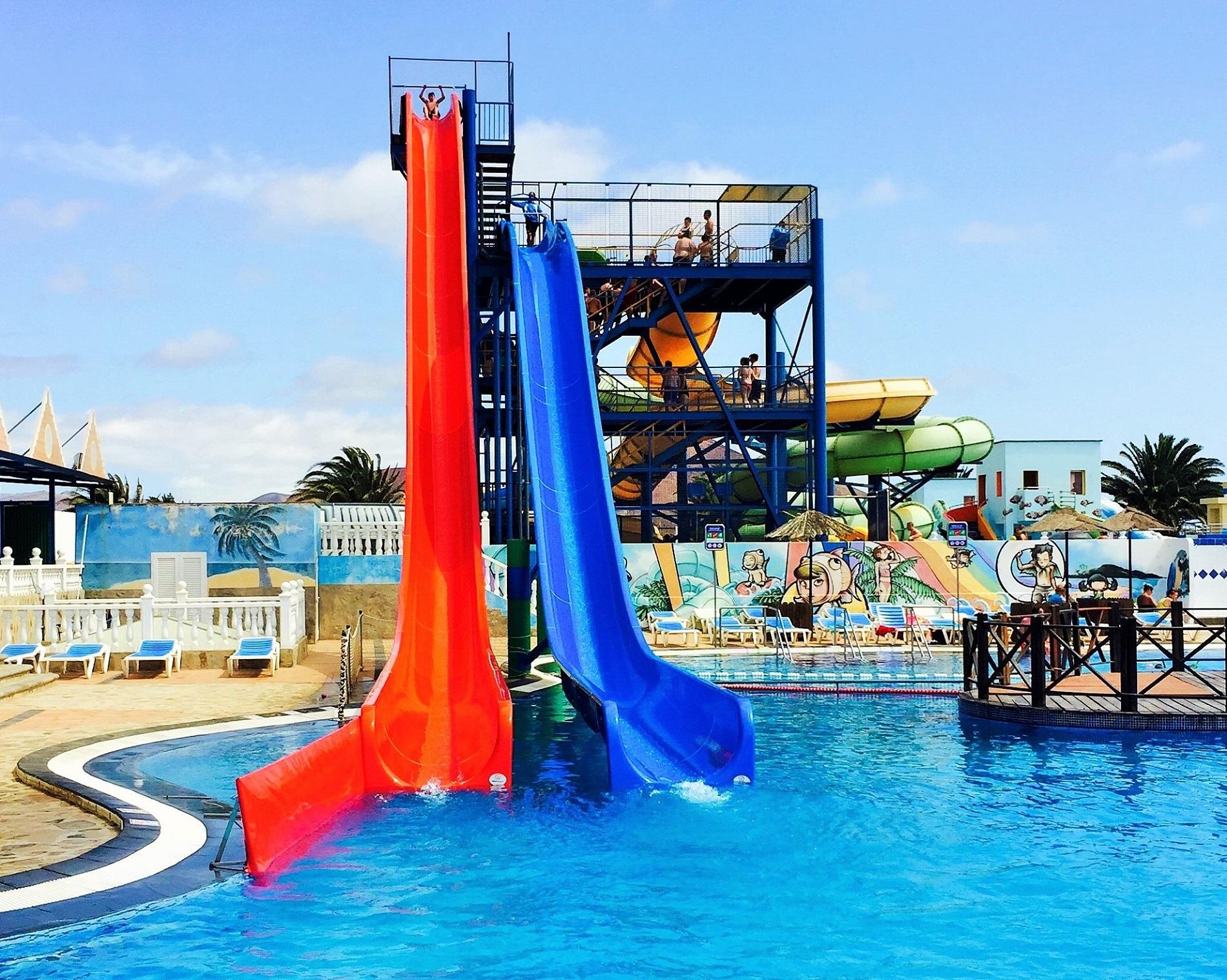 Temible la nueva atracción del Aquapark