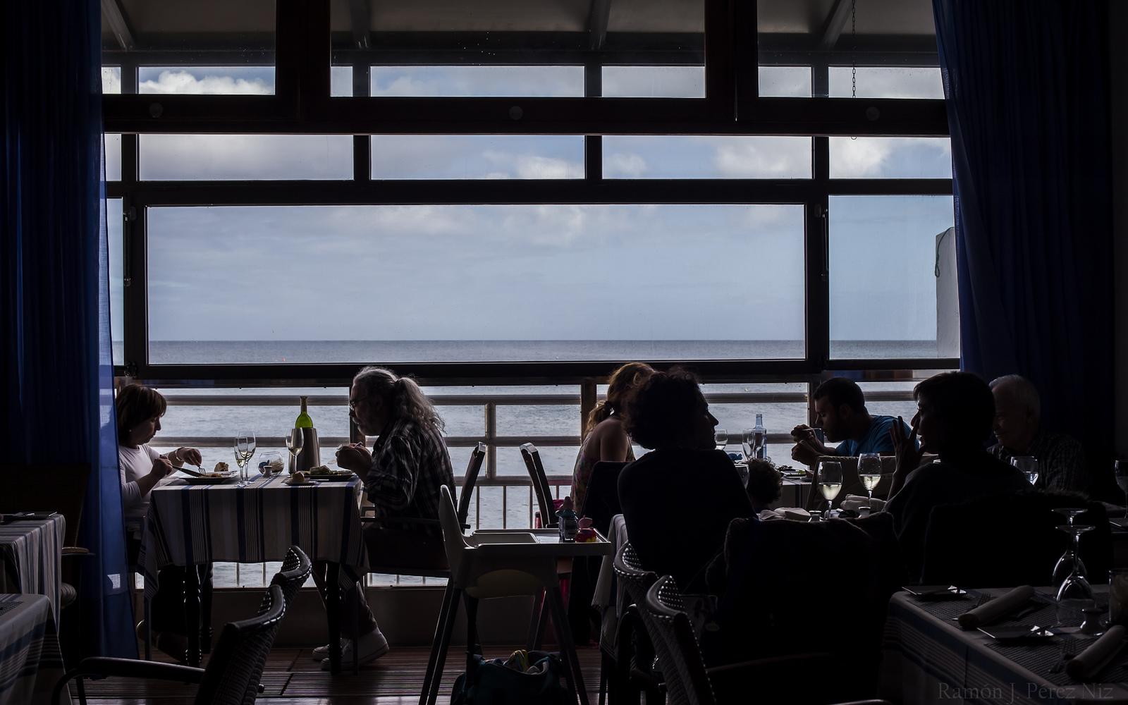 Restaurante El Marinero, Arrieta, Lanzarote, fotografía Ramón Pérez Niz