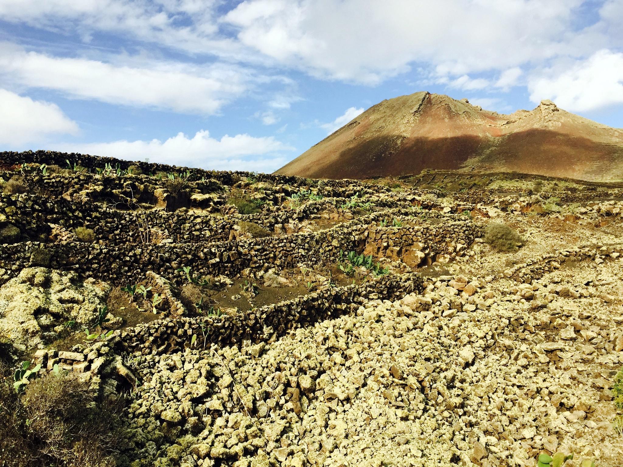 El Volcán de la Corona, Ye, Lanzarote