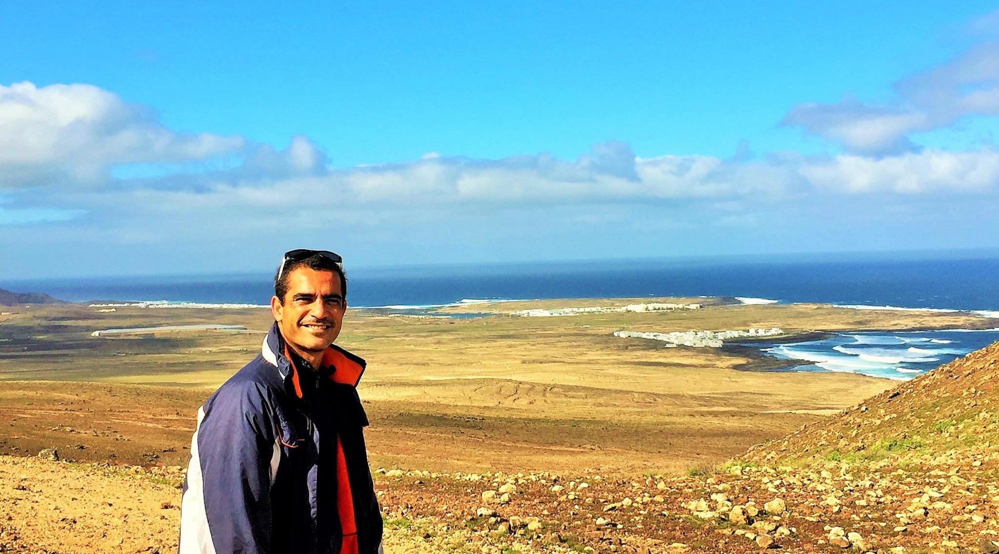 El pico surfero de La Santa y Caleta Caballo