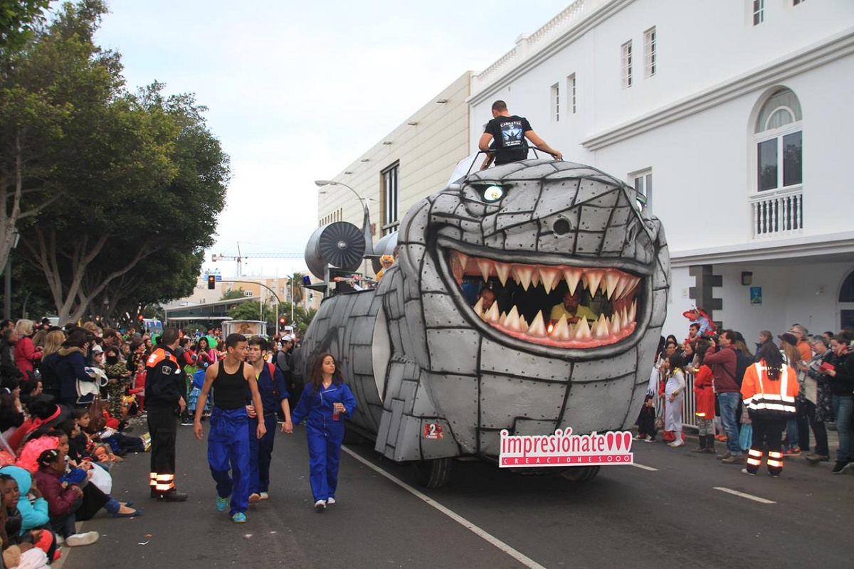 Desfile de carrozas de Arrecife