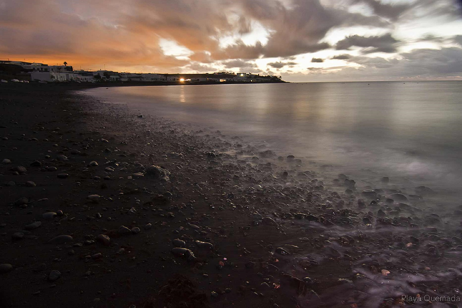 Playa Quemada, Lanzarote, fotografía de Ramón Pérez Niz