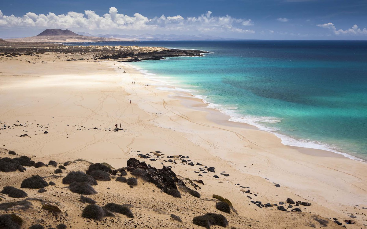 Ramón Pérez Niz fotografía, Playa de Las Conchas, La Graciosa