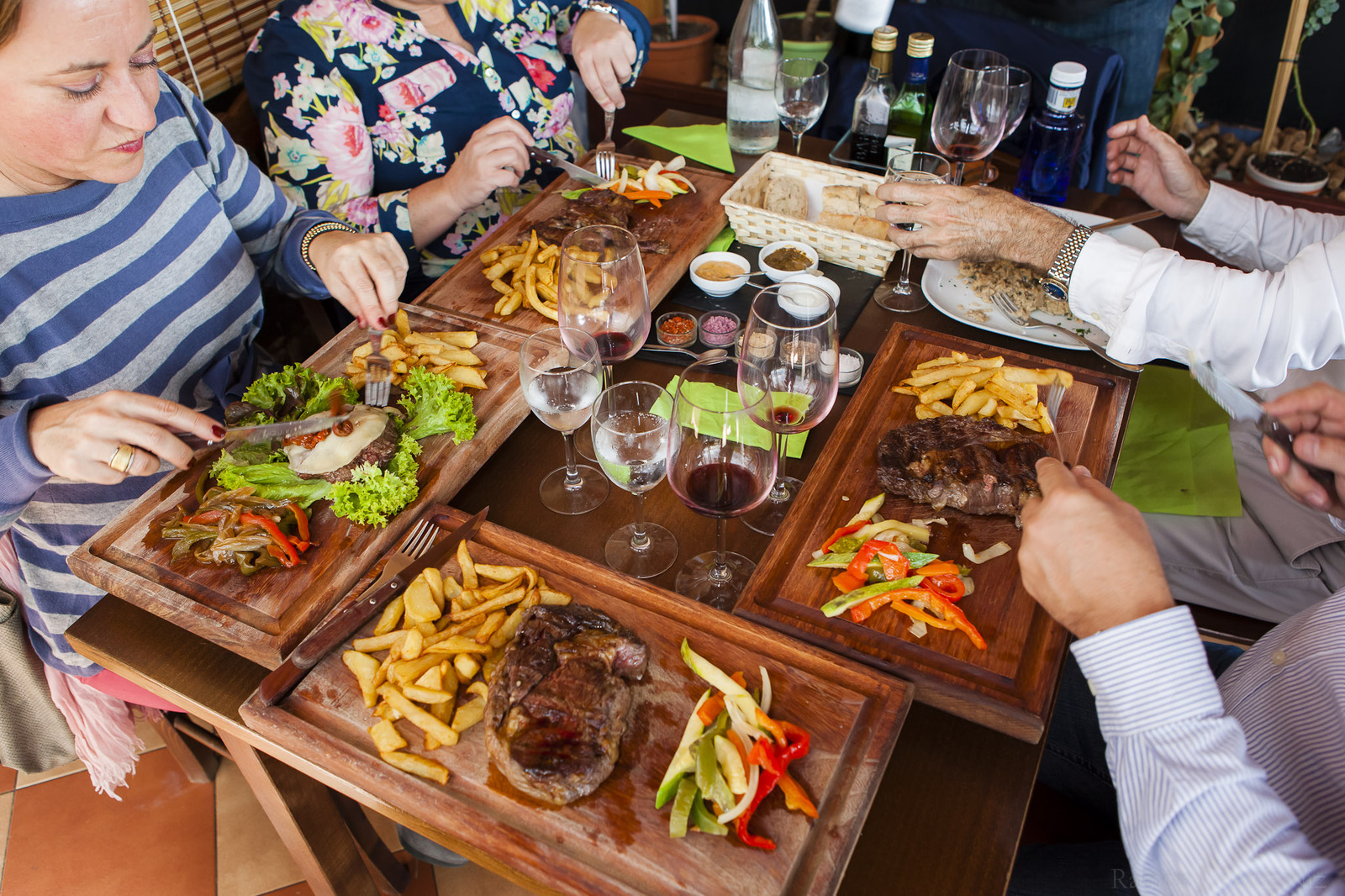 Restaurante La Bohemia de Costa Teguise en Lanzarote, fotografía de Ramón Pérez Niz