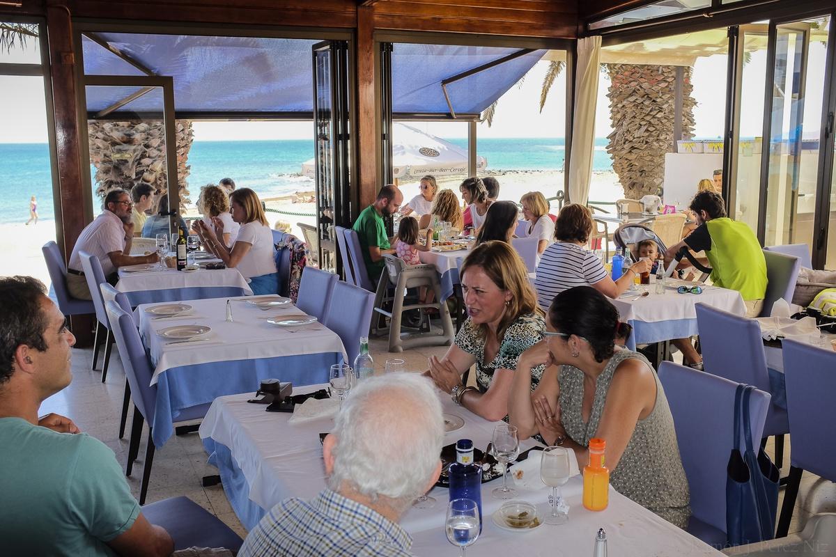 Restaurante La Marea, Fotografía, Ramón Pérez Niz, Playa Honda