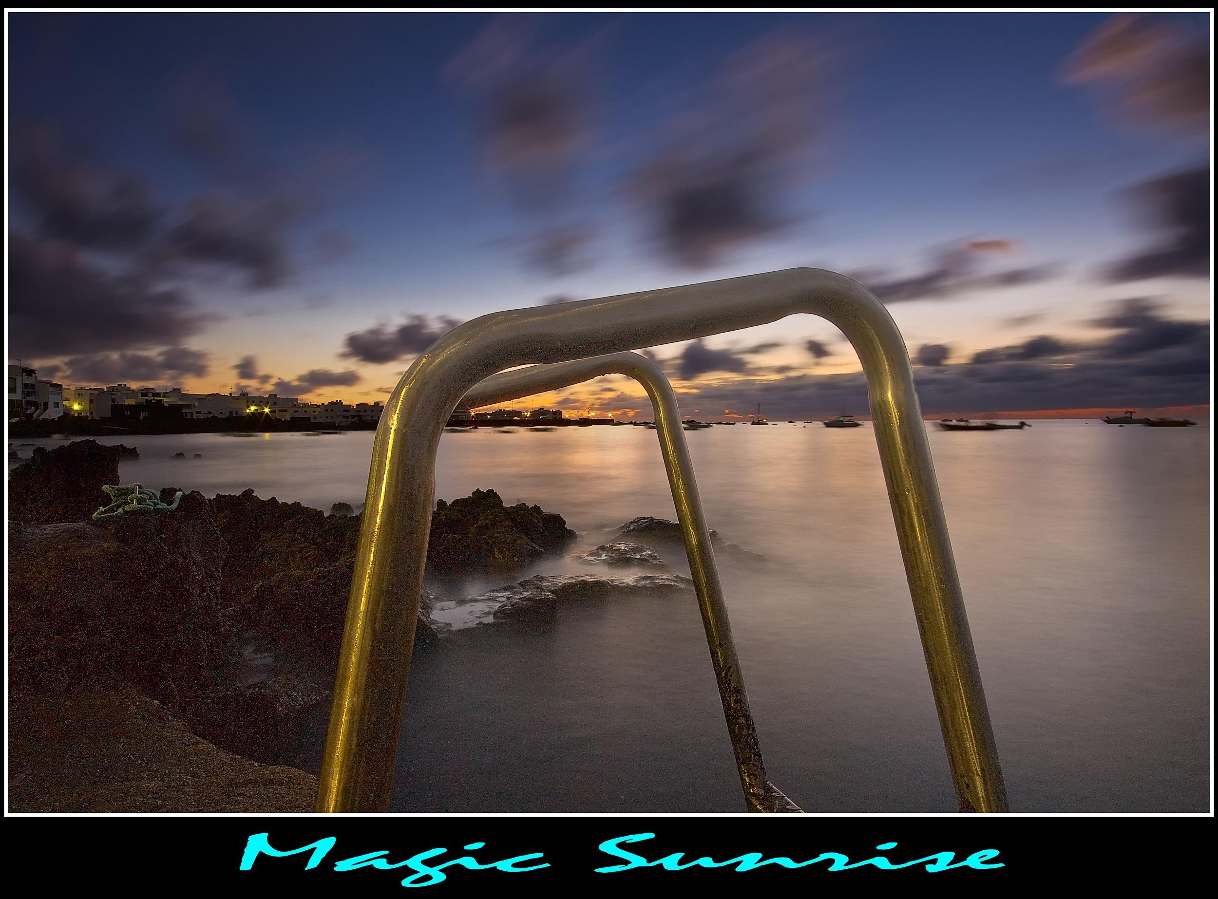 Amanecer en Punta Mujeres, Fotografía Lanzarote, Dolmancé