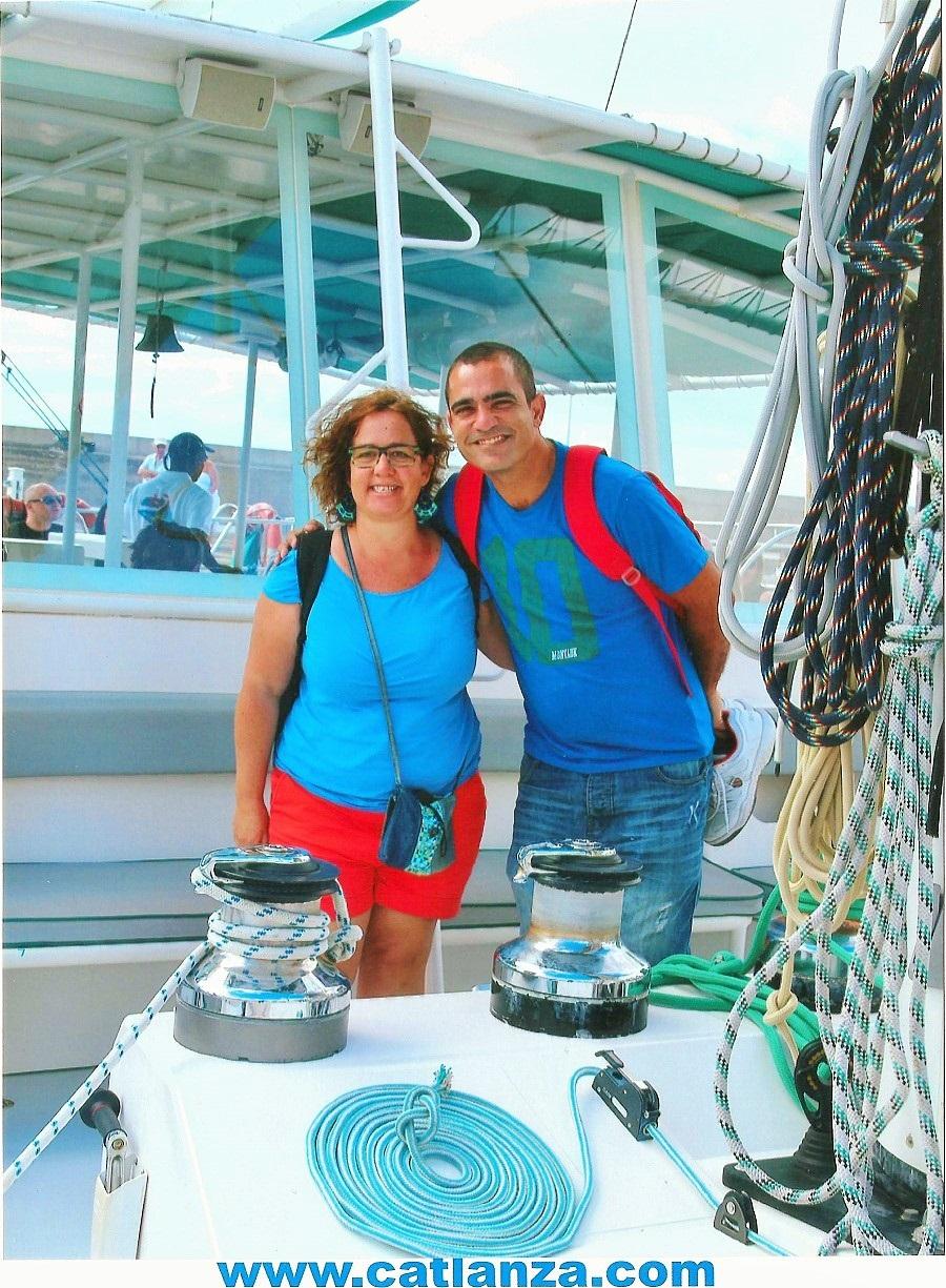 La tripulación de Lanzarote3.com