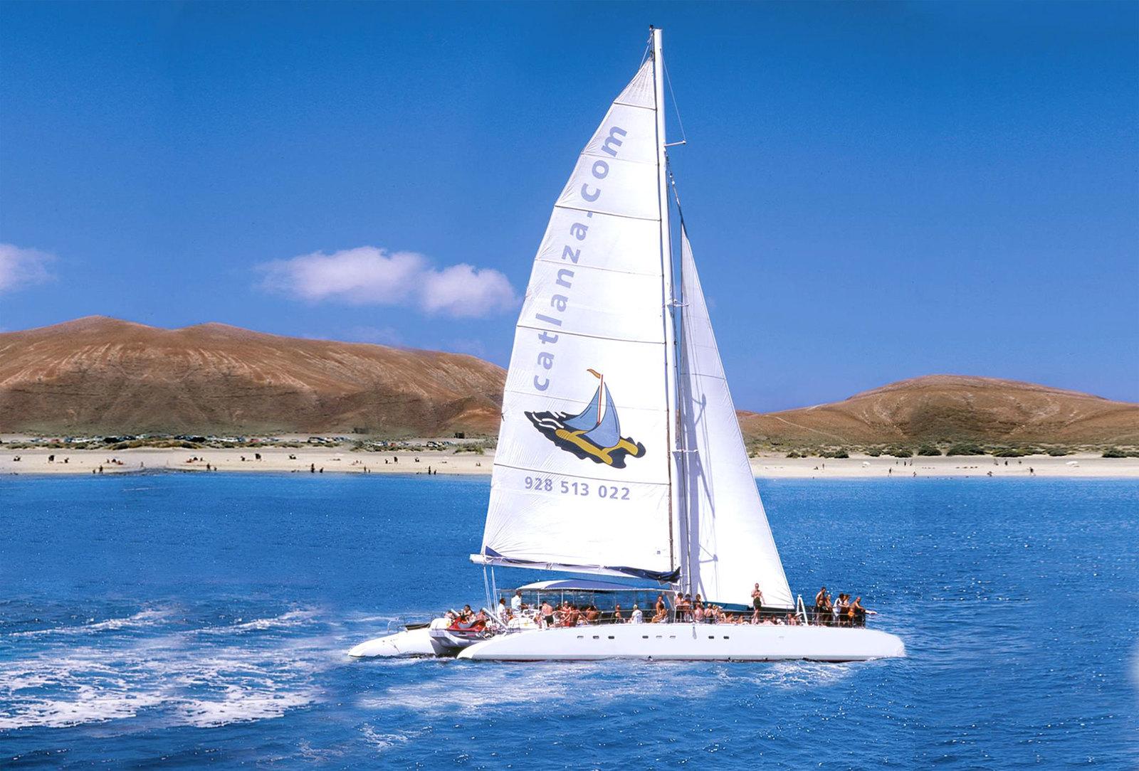 Catlanza, excursión marítima, Puerto Calero-Papagayo en barco