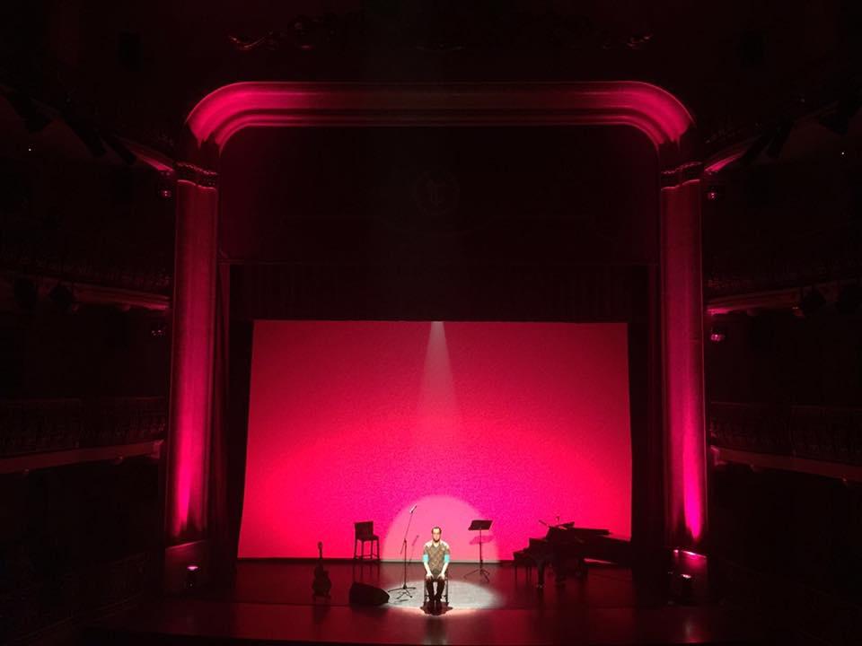 """Aarón Gómez, sábado 11 de febrero, """"Solamente"""", en el Teatro Leal de La Laguna"""